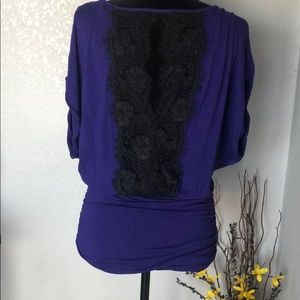 Express Purple, Lace Top